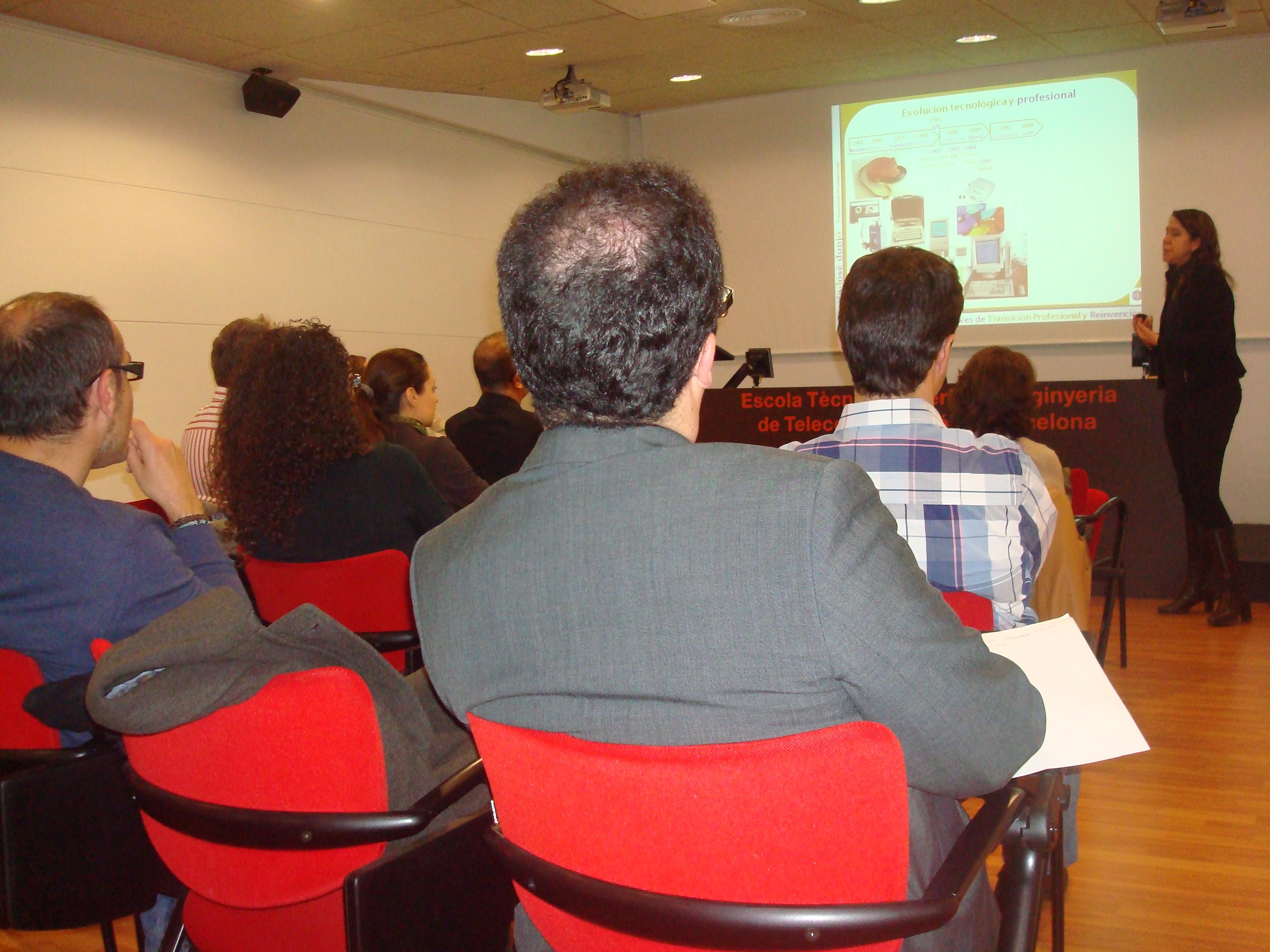 Xarxa Telecos BCB - Sessió sobre Transició Professional i Reinvenció amb María-José Dunjó