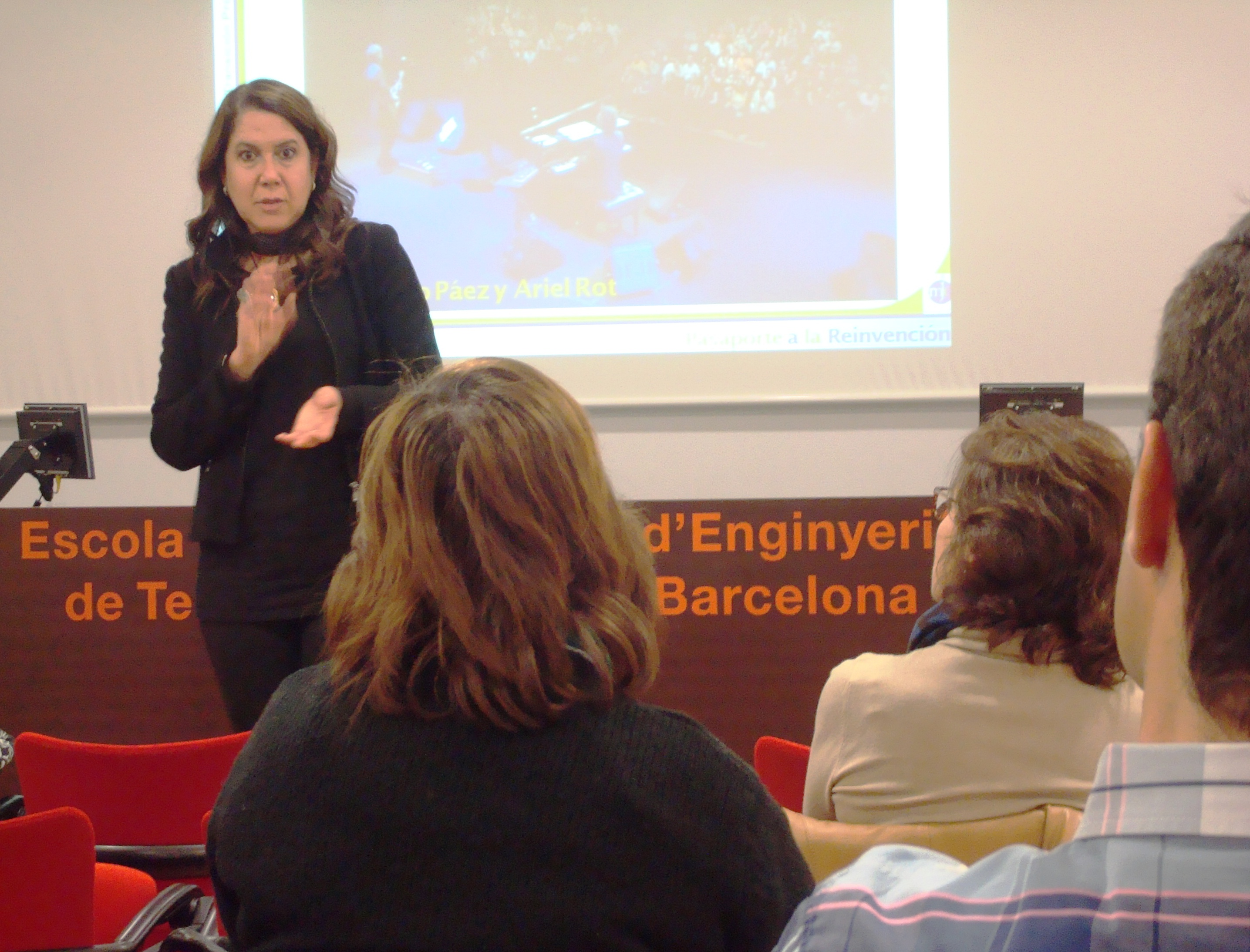 Xarxa Telecos BCB - Sessió sobre Transició Professional i Reinvenció amb María-José Dunjó 2