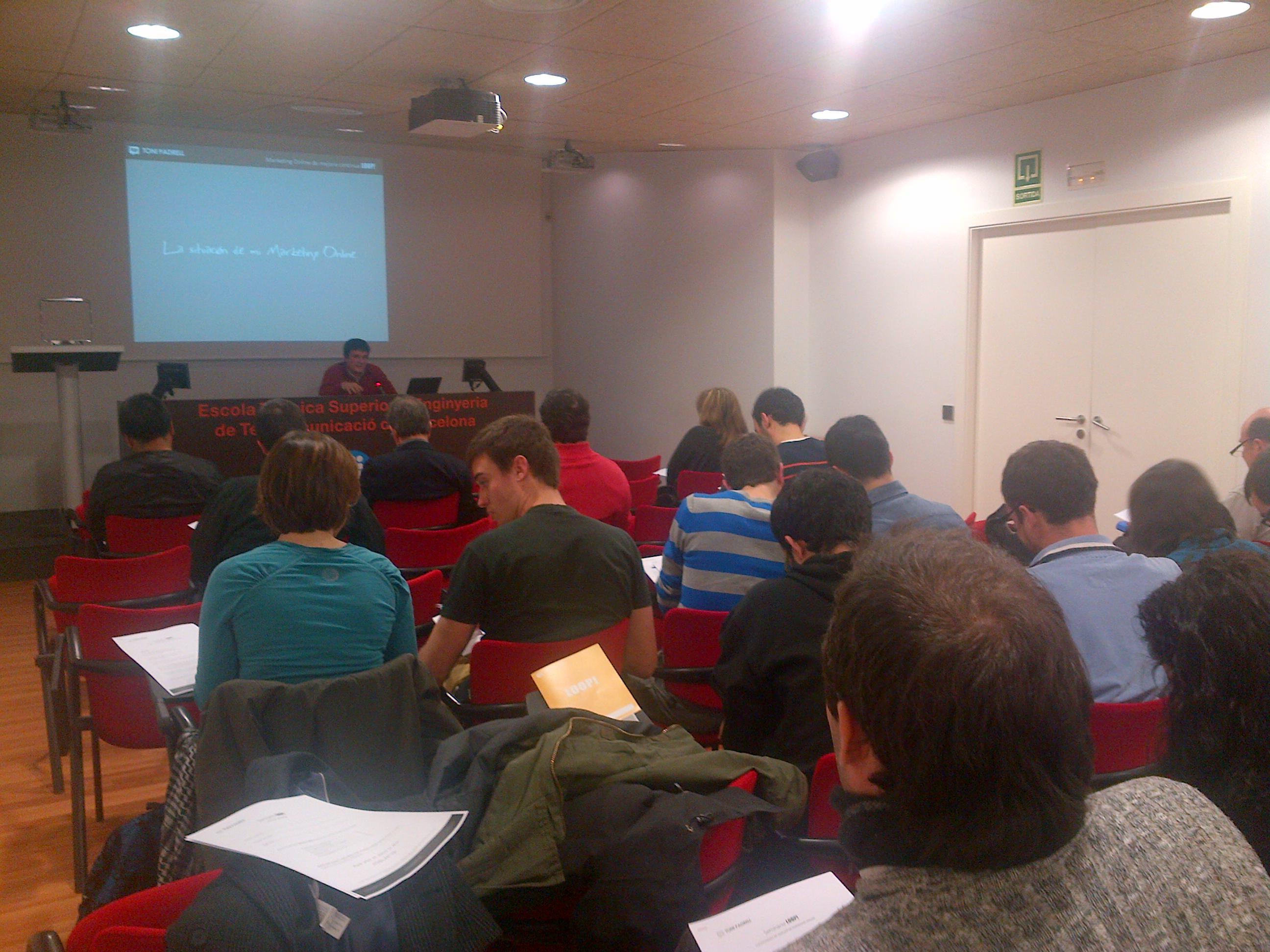 Xarxa Telecos BCN - Seminari Gratuït de Marketing Online Loop!