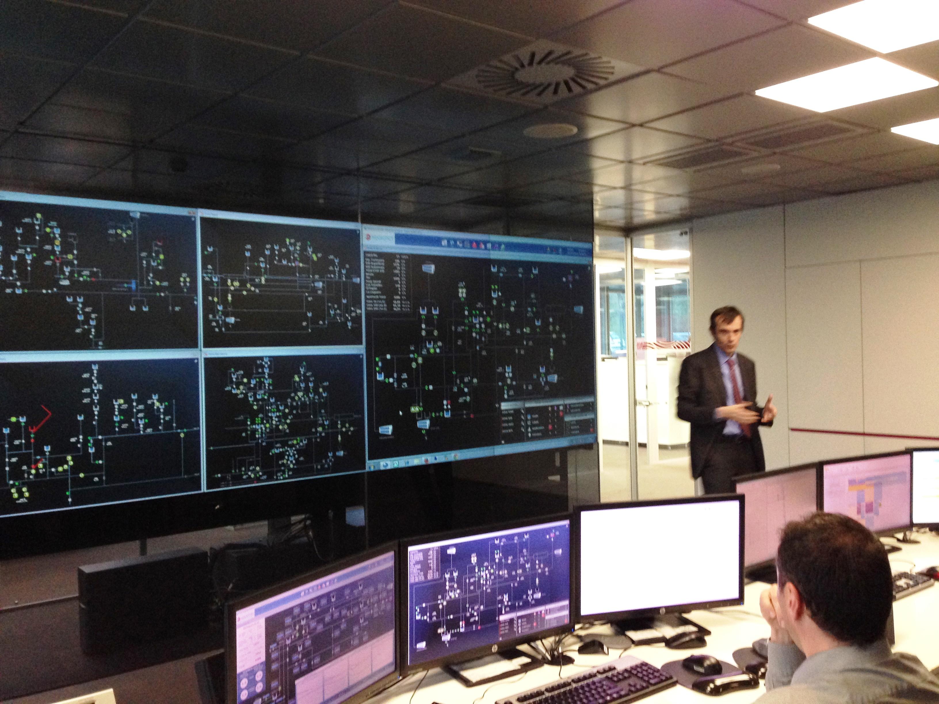 Crònica de la visita de la XTB a Centre de Control d'Operacions d'AGBAR
